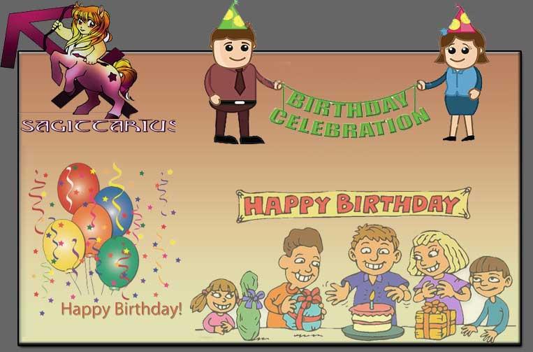 Sagittarius Birthday Celebration